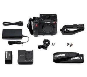 Canon EOS C70 Battery feature & slots & Charger