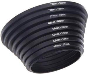 SHOPEE 49mm-82mm Lens ring